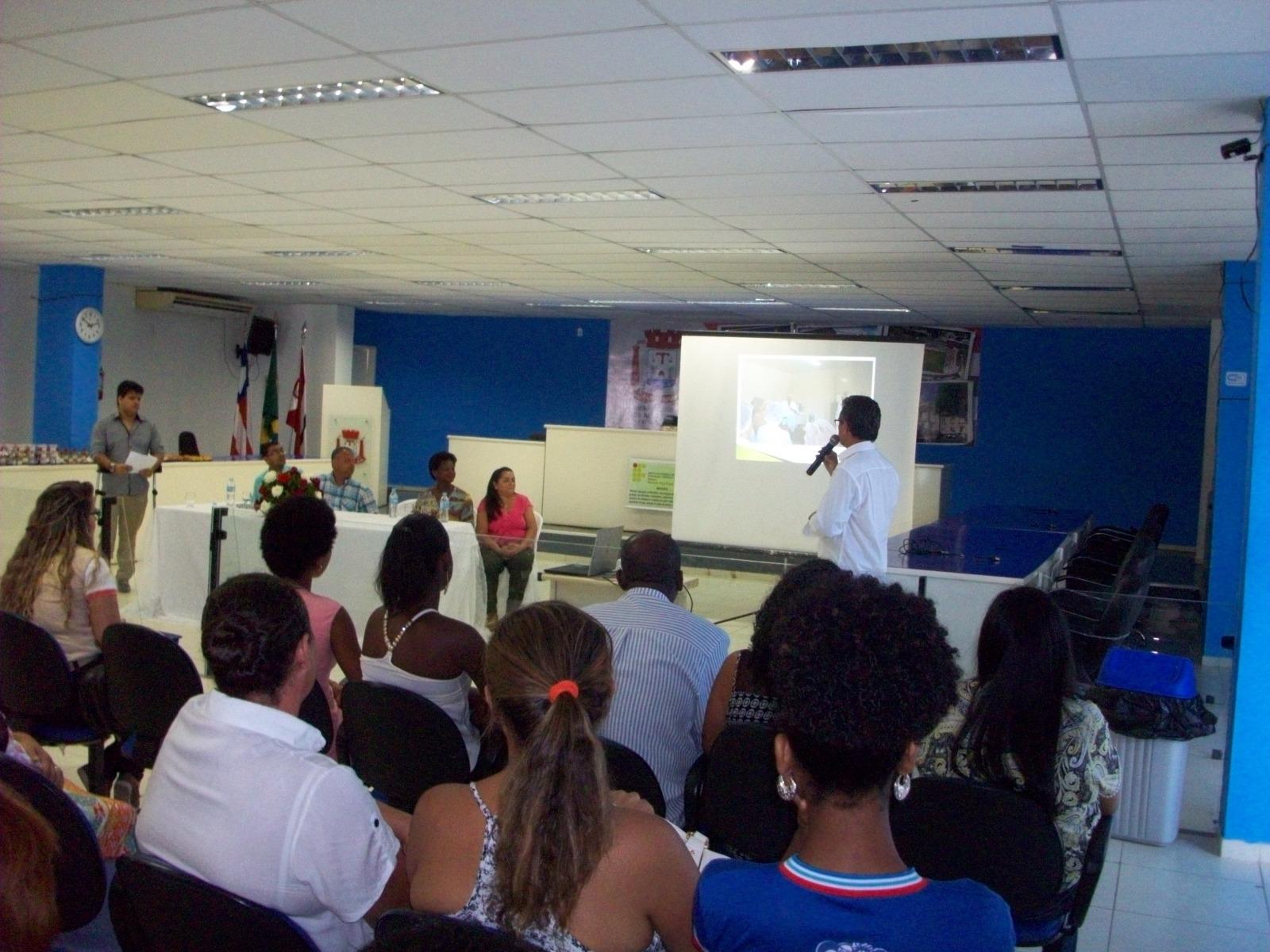 Evento de certificação da primeira turma FIC do Campus Alagoinhas Foto: Acervo pessoal / Equipe Campus Alagoinhas