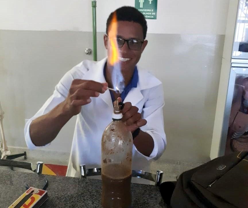 Projeto de biodigestor criado por estudante do IF Baiano é destaque no Canal Futura