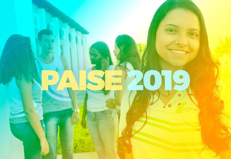Divulgado o Edital do Programa de Assistência e Inclusão Social do Estudante – PAISE 2019