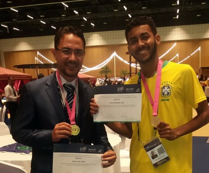 Pesquisa de estudantes do IF Baiano é premiada em Abu Dhabi