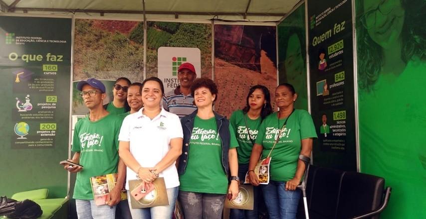 IF Baiano marca presença na 32ª Feira Internacional da Agropecuária (Fenagro)